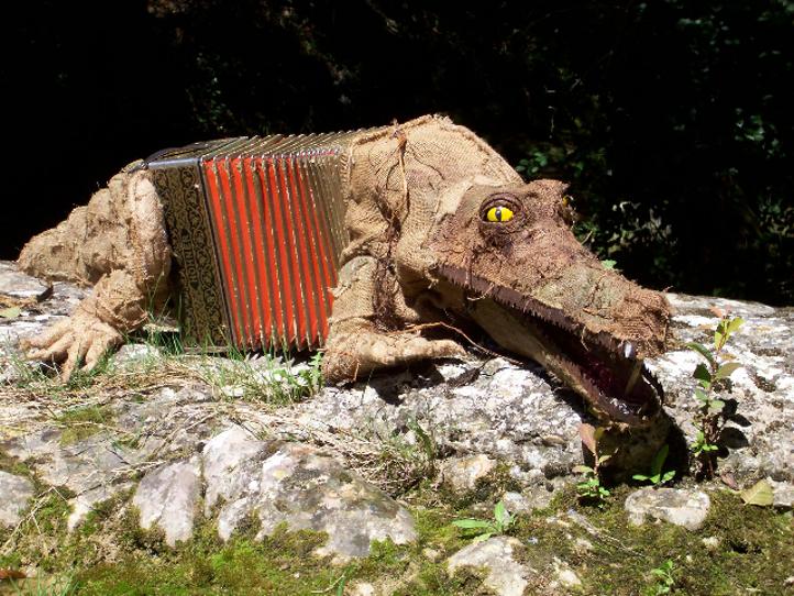 Un bien étrange Crocodéon...